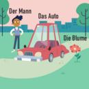 LilleKnap MannAutoBlumen